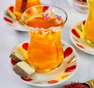 چایی زعفران