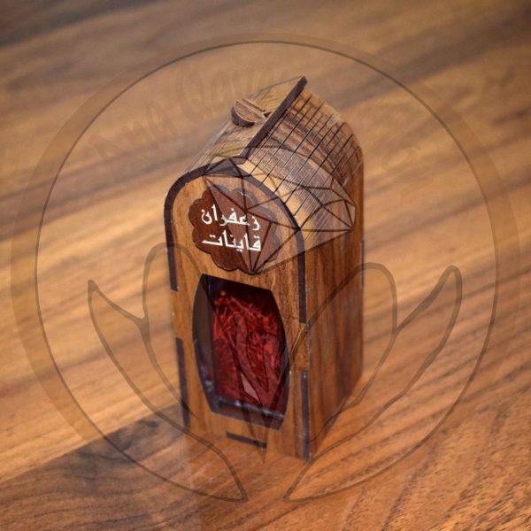 باکس چوبی زعفران